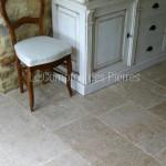 Dallage en pierre de BourgogneLavigny ClairFinition Vieux beaune LL40 cm