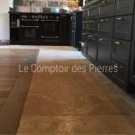 Dallage en pierre de BourgogneLavignyFinition Vieux Beaune LL50 cm