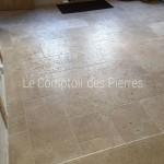 Dallage en pierre de BourgogneLavignyFinition Vieux beaune Opus VI