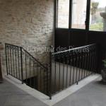 Parement escalieren pierre de BourgogneChagny Clair