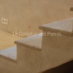 Parement escalieren pierre de BourgogneChagny Doré