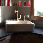 Evier Bonnieux en pierre de Bourgogne beige clair