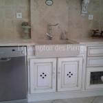 Evier Aigues en pierre de Bourgogne beige clair