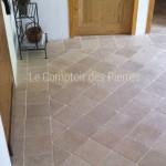 Pavés en pierre de Bourgogne20 x 20 cm