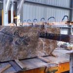 Sciage blocs depierre de Bourgogne