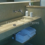Vasque en pierre de Bourgogne Doré Antiquaire