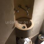 Vasque en pierre de Bourgogne