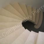Escalier à voûte sarazine