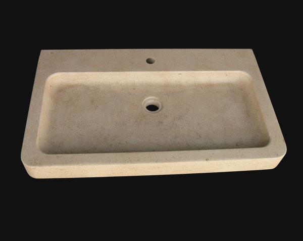 Vasque en pierre de Bourgogne doré adouci Grignan