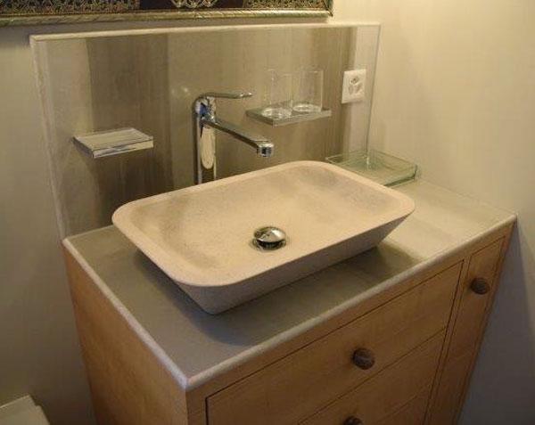 Vasque en pierre de Bourgogne Lourmarin