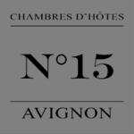 15 Avignon Chambres d'Hôte