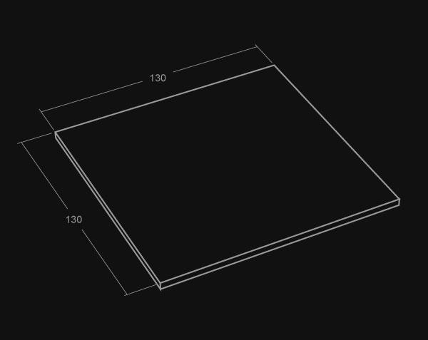plateau de table carr en pierre de bourgogne le comptoir des pierres. Black Bedroom Furniture Sets. Home Design Ideas