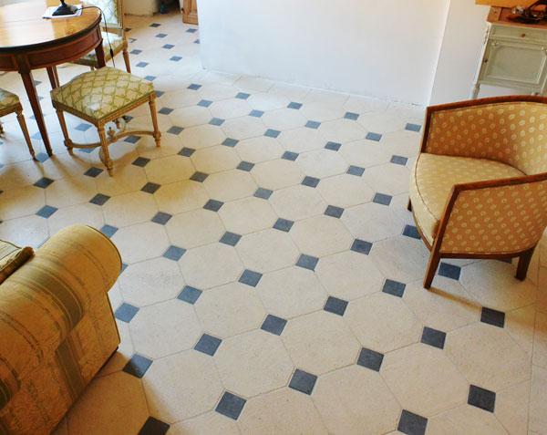 carrelage avec cabochon carrelage octogonal dcor x mat et cabochons variette m with carrelage. Black Bedroom Furniture Sets. Home Design Ideas
