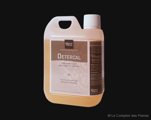 Detercal - Produit d'entretien alcalin neutre pour la pierre naturelle
