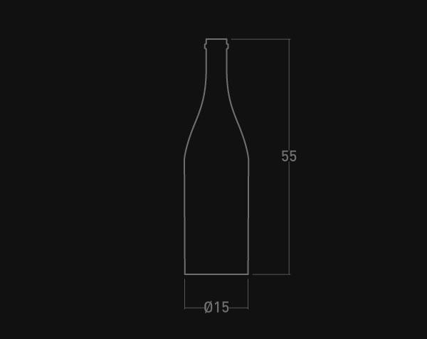 bouteille en pierre de bourgogne le comptoir des pierres. Black Bedroom Furniture Sets. Home Design Ideas