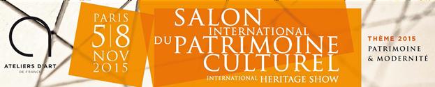 Salon du Patrimoine Culturel 2015