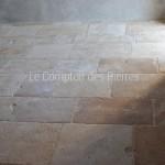 Dallage en pierre de Bourgogne type Vieilles Dalles Rustiques