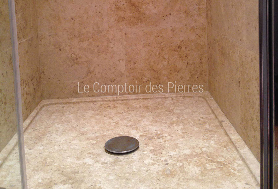 prix receveur douche beautiful receveurs de douche slate coloris sand with prix receveur douche. Black Bedroom Furniture Sets. Home Design Ideas