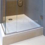 Receveur de douche en pierre de Bourgogne