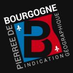 Logo de l'indication géographique Pierre de Bourgogne [fond noir 150x150]