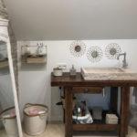 Vasque Saint Quentin Beige Clair