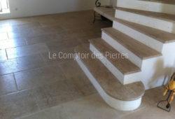 Vieilles Dalles de Bourgogne<br/> Burgundy limestone Lanvignes<br/>Details
