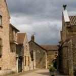 Typical Burgundy village