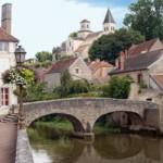 Bridge at Semur en Auxois