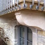 Corbeaux balconpierre de Bourgogne
