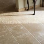 Dallage en pierre de BourgogneLanvignes Finition Vieux Beaune LL40-50 cm