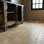 Dallage en pierre de BourgogneLanvignes Finition Vieux Beaune LL50 cm