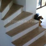 Parement escalieren pierre de BourgogneLanvignes Antiquaire