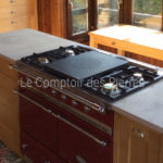 Plan de cuisine en pierre de Bourgogne Charmot Clair Adouci