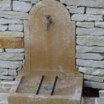 Fontaine en pierre - Livraison France, Suisse, Europe...