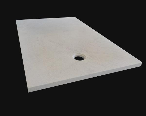 Receveur de douche en pierre 140x80 cm