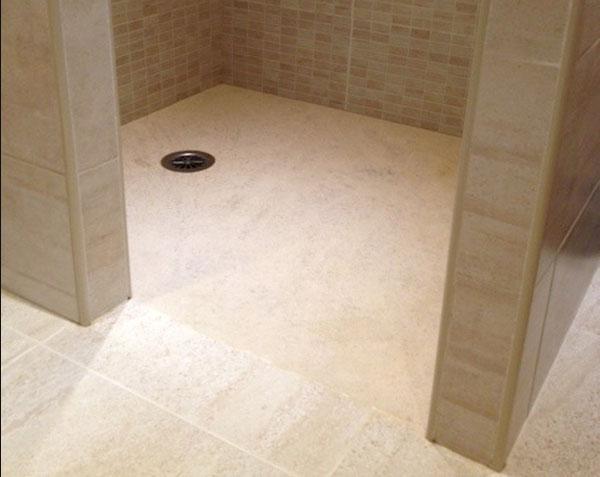 receveurs de douche en pierre de bourgogne le comptoir. Black Bedroom Furniture Sets. Home Design Ideas