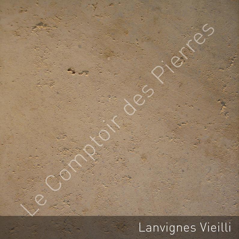 Burgundy limestone - Aged Lanvignes