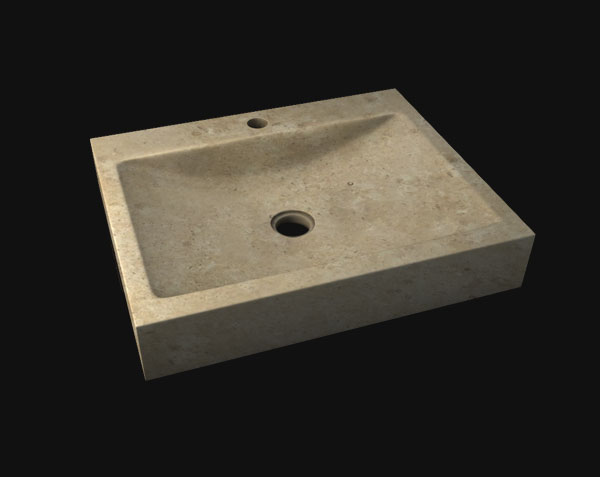 Vasque en pierre de Bourgogne GOULT
