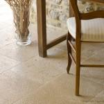 Dallage en pierre de Bourgogne Lanvignes finition Vieux Beaune - Longueurs Libres x Largeur 40 cm