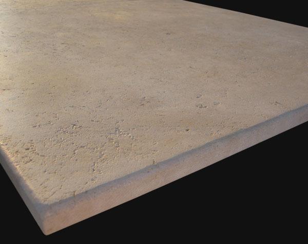 Plateau de table en pierre de Bourgogne