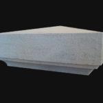 Chapeau de pilier Merceuil en pierre de Semond
