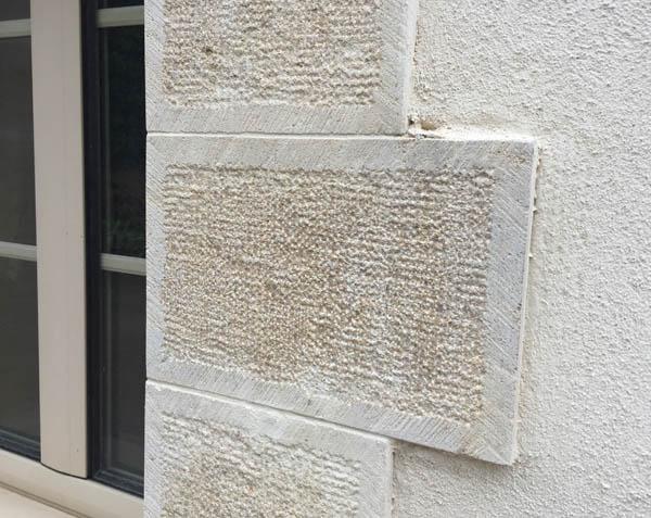 Habillage de fenêtre en pierre naturelle