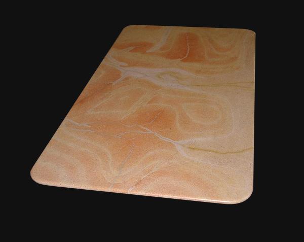 Plateau de table en pierre de Corton