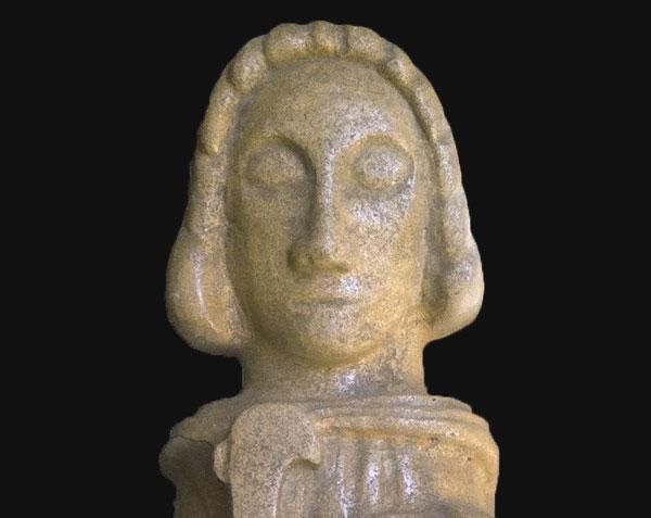 Saint-Vincent - Statue en pierre de Bourgogne