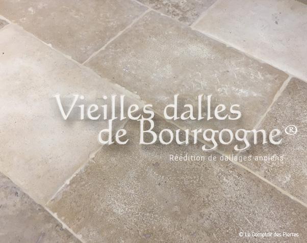 Dallage Vieilles Dalles de Bourgogne