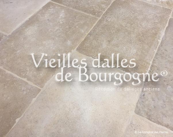 Dallage Vieilles Dalles de Bourgogne Naturelles Saint-Genay