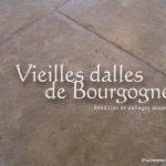 Vieilles Dalles de Bourgogne Lanvignes Antiquaire