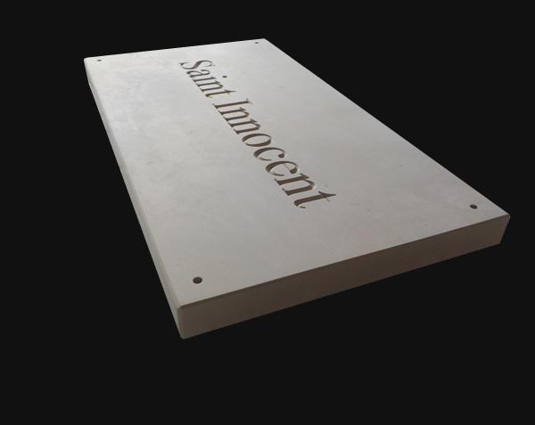 Prix plaque gravée sur demande