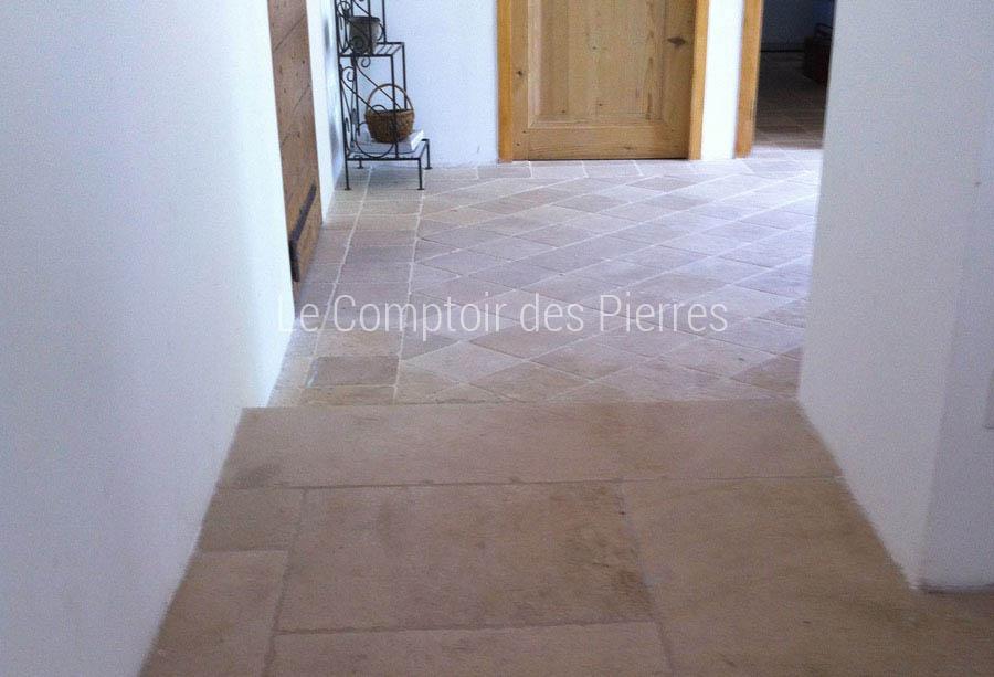 Dallage et pavés en pierre de Bourgogne