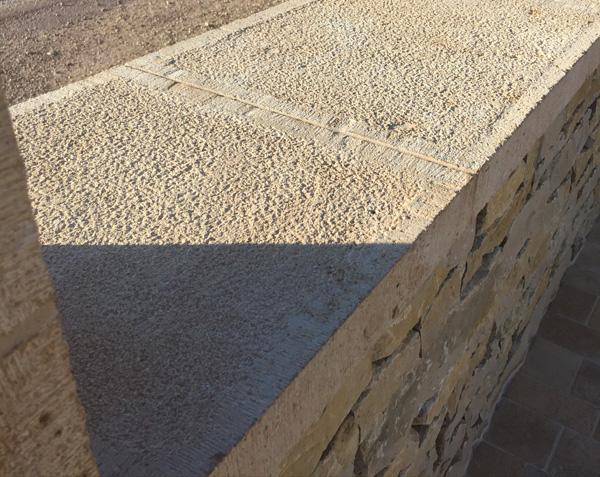 Couvertine en pierre